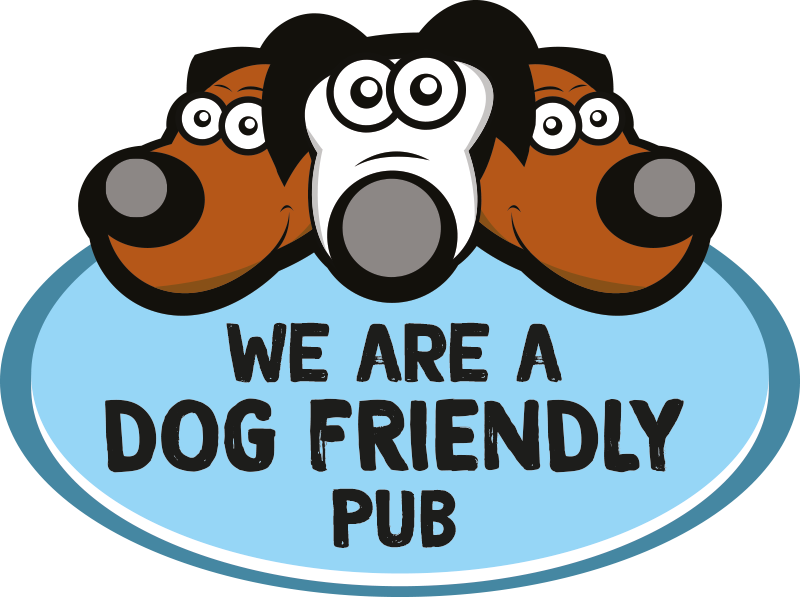We are a dog friendly pub